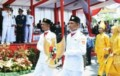 Semarakkan HUT RI, Gubernur Sumut Lepas Pawai Pembangunan