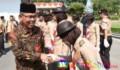 Kontingen Kwarcab Pramuka Tebingtinggi dilepas ke Cibubur