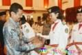 Erry Nuradi Lepas Pemulangan Paskibraka Sumut 2017