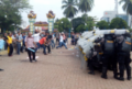 Pilkada Ricuh, Ribuan Massa Bentrok Dengan Petugas