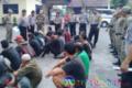 Polres Tebingtinggi dan Satpol PP Amankan Belasan Gepeng