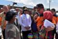 Kepala BPNB dan Wagubsu Kunjungi Pengungsi Sinabung