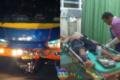 Pengendara Motor Tewas Usai Tabrakan Dengan Bus
