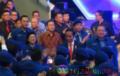 Presiden RI Jokowi Hadiri Rapimnas Partai Demokrat