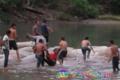Mandi Di Sungai, Dua Remaja Tebingtinggi Hanyut