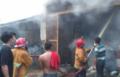 Satu unit Ruko Terbakar di kota Tebingtinggi