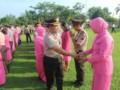 Kapolres Sergai Pimpin Upacara Korps Raport Kenaikan Pangkat