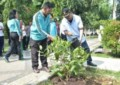 Wali Kota Tebingtinggi Pimpin Gotroy Di Taman Kota
