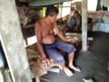 Tinggal di Gubuk, Warga Pematang Sijonam Mengaku Bahagia