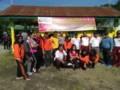 Panwaslu Perbaungan Gelar Senam Sehat Menuju Pemilu 2019
