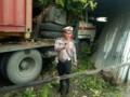 Truk Kontainer Seruduk Rumah Warga Di Tebingtinggi