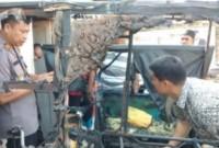 Betor Milik Chairuddin Diduga Dibakar OTK