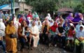 Caleg Partai Hanura Sosialisasi di Desa Tanjung Medan
