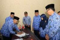 Bupati dan SKPD Sergai Tandatangani Dokumen Perjanjian Kinerja