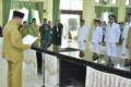 Ratusan Pejabat Administrasi dan Pengawas Pemko Tebingtinggi Dilantik