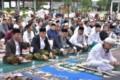 Wali Kota dan Ribuan Umat Muslim Tebingtinggi Shalat Idul Fitri di Lapangan Merdeka