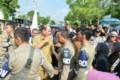 Pedagang Pasar Kain Unjukrasa ke Kantor Wali Kota Tebingtinggi