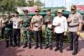 Panglima TNI dan Kapolri Pimpin Apel Pengamanan Nataru di Medan