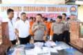 Gelar Press Release, Polres Sergai Ungkap 34 Kasus