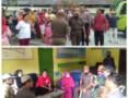 Tuntut Sembako, Warga Datangi Kantor Lurah Simpang Tiga Perbaungan