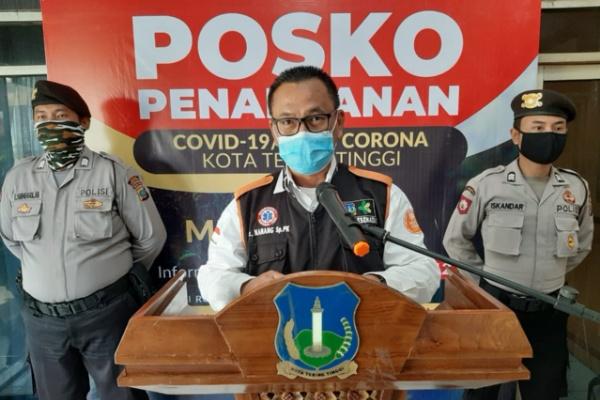 Jubir Penanganan covid-19 kota Tebingtinggi dr Nanang Fitra Aulia