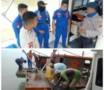 Sat Pol Air Polres Sergai Amankan Dua Pukat Trawl