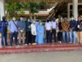 Mahasiswa KKN Universitas Malikussaleh Sebar Brosur Pencegahan Covid-19 di Tebing Tinggi
