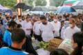 Menteri Sosial Tinjau Pencairan Bansos di Simalungun