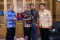 Galakkan UMKM,  Wali Kota Tebingtinggi Kunjungi Dinas Perdagangan Provsu