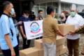 Satgas Covid-19 Sumut Salurkan 3.000 Paket Sembako