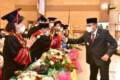 Gubernur Sumut Motivasi Lulusan Institut Deli Husada